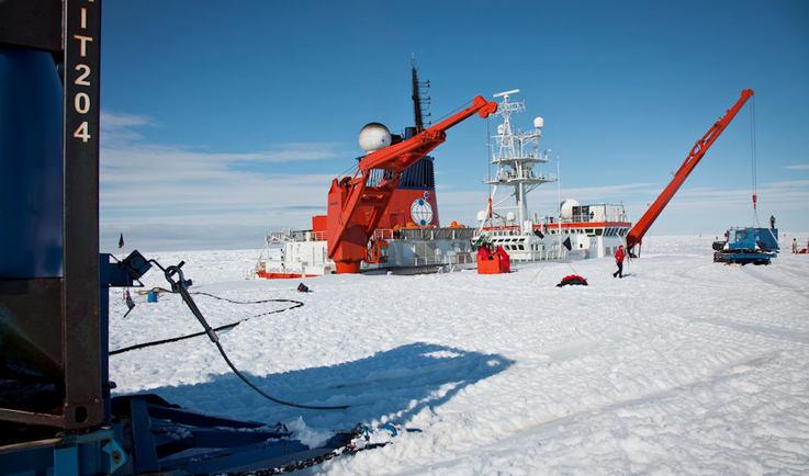 Die Polarstern des Alfred-Wegener-Instituts (AWI) ist das Arbeitspferd in der Polarforschung. Seine