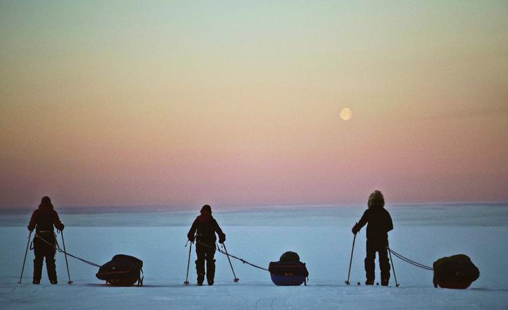 Die Expedition der jungen Entdecker startete am 4. Mai in Kangerlussuaq an der Westküste