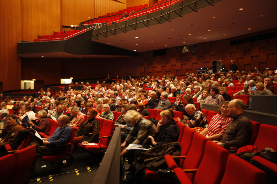 volles Haus in Hannover